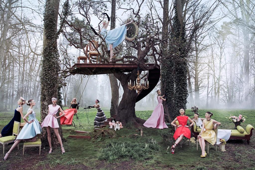 Let Them Wear Dior Secret Garden Part 2 Versailles La