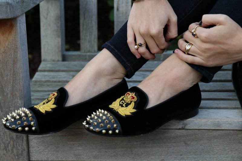Tartan-Louboutin-Loafers-Studded-10